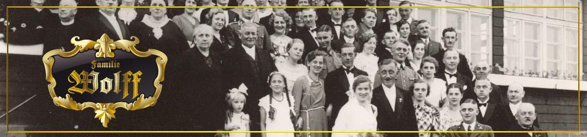 Familie Wenzel Wolff Neurode